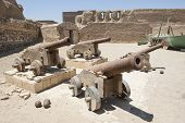 Old Canons At A Roman Fort