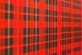 Scottish Checked Pattern Background