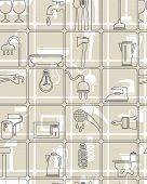 The background, tools and household grey