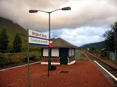 Bridge Of Orchy Train Station