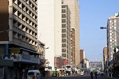Smith Street On A Sunday Morning, Durban South Africa