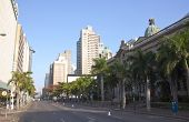 Early Morning View Of Smith Street Outside Durban City Hall
