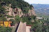 Heng Shan Monastery In Shanxi Province Near Datong, China