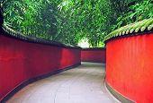 Chinese Garden In Chengdu, China