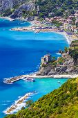 pictorial coast of Italy, Liguria, Monterosso al mare