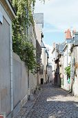 Medieval Narrow Street In Angers, France