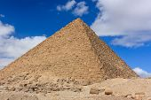 One Of The Pyramids At Giza, Cairo