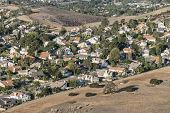 Edge of suburbia near Los Angeles in Simi Valley, California.