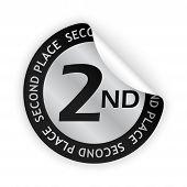 Medal Bent Sticker
