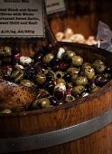 Olives In The Market