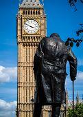 Big Ben and Winston Churchill