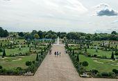 Privy Garden at Hampton Court Palace near London, UK