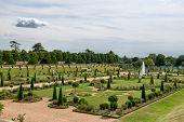 The Privy Garden at Hampton Court Palace near London