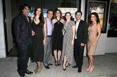 LOS ANGELES - AUG 15: Vincent Spano, Claudia Graf, John Colella, S Fredricks, Andy Hirsch, Betsy Rus