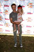 LOS ANGELES - AUG 16:  Breckin Meyer, Clover Meyer at the Disney Junior's Pirate and Princess: Power of Doing Good at Avalon on August 16, 2014 in Los Angeles, CA