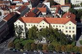 ZAGREB, CROATIA - OCTOBER 14: University Rector's Building in Zagreb on October 14, 2007 Zagreb, Croatia.