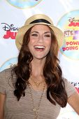 LOS ANGELES - AUG 16:  Samantha Harris at the Disney Junior's Pirate and Princess: Power of Doing Go