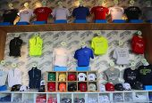 US Open 2014 souvenirs at the Billie Jean King National Tennis Center