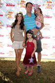 LOS ANGELES - AUG 16:  Samantha Harris, family at the Disney Junior's Pirate and Princess: Power of