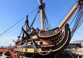 Portsmouth warship, UK