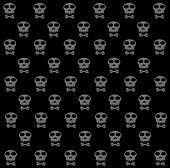 Skulls Pattern Abstract Seamless Texture