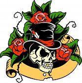 Gentleman's skull