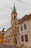 Sts Cyril And Methodius Church (1880). Zagreb, Croatia