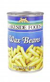 West Point - August 17, 2014: Can of Lakeside Foods  Wax Beans