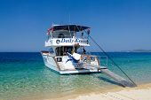 Pleasure Boat At The Sithonia Peninsula, Greece