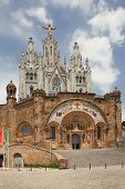 stock photo of sacred heart jesus  - Expiatory Church of the Sacred Heart of Jesus  - JPG
