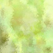 art abstract pixel geometric pattern background in light green and yellow colors