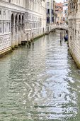 Channels Are In City Venice