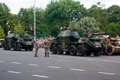 Self Propelled Gun Howitzer Dana 152