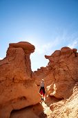 pic of goblin  - Goblin Valley SP - JPG