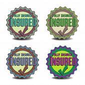 Insured badges