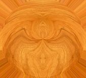 abstract wood design with walnut for background