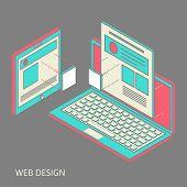 mobile and desktop website design development process