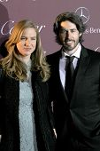 PALM SPRINGS, CA - JAN 3: Helen Estabrook and Jason Reitman arrive at the 2015 Palm Springs Film Festival Awards Gala at the Palm Springs Convention Center on January 3, 2015 in Palm Springs, CA.