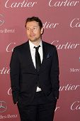 PALM SPRINGS, CA - JAN 3: Leigh Whannell arrives at the 2015 Palm Springs International Film Festival Awards Gala at the Palm Springs Convention Center on January 3, 2015 in Palm Springs, CA.
