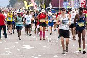Thousands Of Participants Running In 2014 Comrades Marathon Road Race