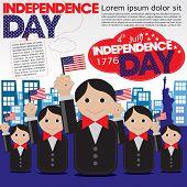 Independence Day Celebration Concept.