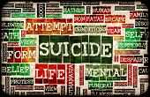 pic of suicide  - Suicide Concept as a Grunge Depression Background - JPG