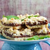 Crumble Bars With Fig Filling