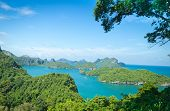 View Point, Wua Talab Island, Ang Thong National Marine Park, Koh Samui, Thailand