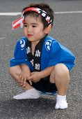 Young Japanese Festival Dancer
