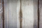 Old Rusty Zinc Door