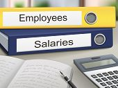 Employees And Salaries Binders