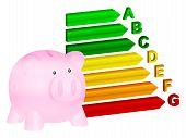 Energy Efficiency Coin Bank