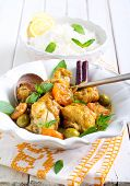 Lemon Chicken With Apricot