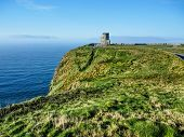 pic of cliffs moher  - Cliffs of Moher in County Clare Ireland - JPG
